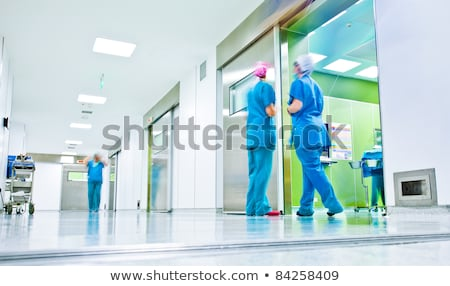 Nurse in a hospital hall stock photo © photography33