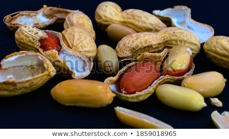 close up of some peanuts stock photo © ozaiachin