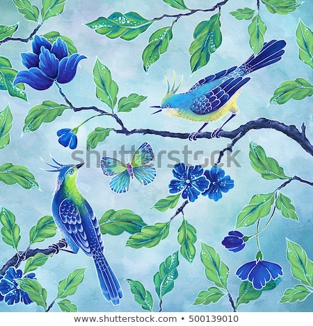 Spring humming Stock photo © lightkeeper