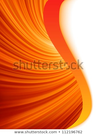 Star burst red and orange fire. EPS 8 Stock photo © beholdereye