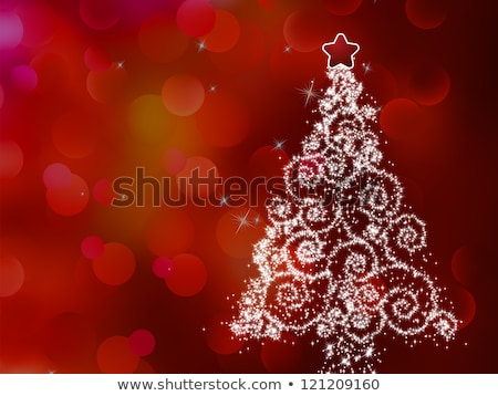 sparkling bokeh christmas eps 8 stock photo © beholdereye