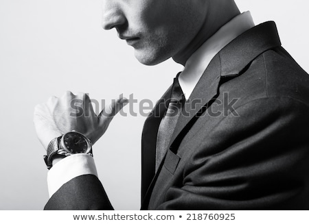 Man waiting for a business meeting Stock photo © photography33