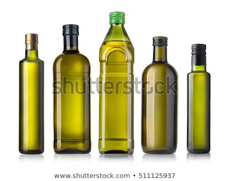 olajbogyók · üveg · olívaolaj · ág · étel · levél - stock fotó © Masha