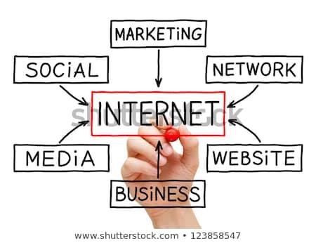 marketing · grafiek · Rood · fiche · woord - stockfoto © ivelin
