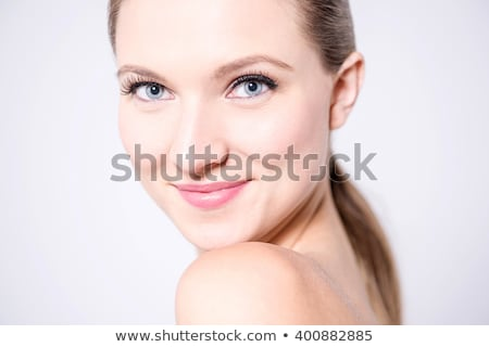 Alluring beautiful woman posing topless Stock photo © dash