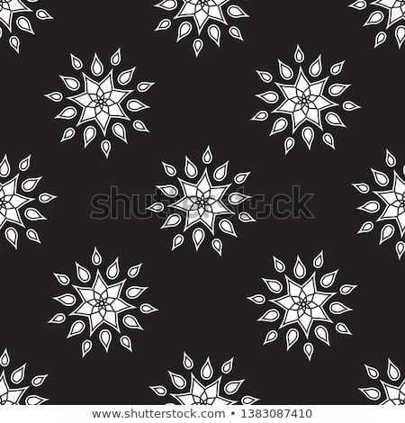 snow flake medallion 7 Stock photo © robertosch