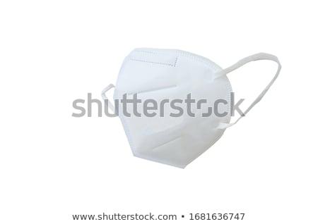 Pyłu twarz maska odizolowany biały Zdjęcia stock © shutswis