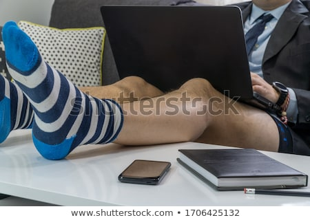 Businessman in his underwear Stock photo © vlad_star