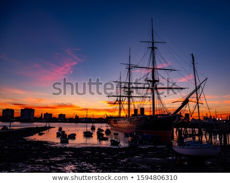 Stock photo: HMS Warrior