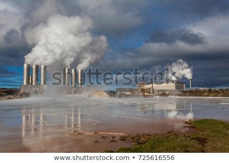 Geothermal Energy Iceland Stock photo © ollietaylorphotograp