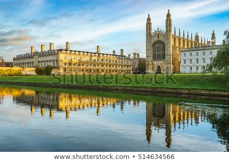 Faculdade cambridge universidade inglaterra rei céu Foto stock © Snapshot