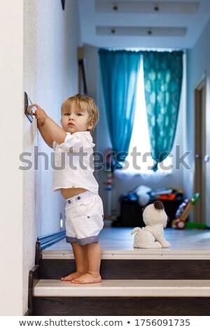 Cute little boy play  stock photo © get4net