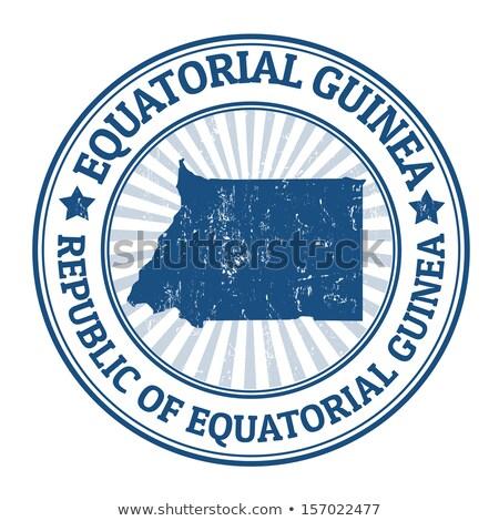 Post stamp of Equatorial Guinea  Stock photo © Taigi