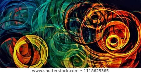 Abstract Fractal Vortex Stock photo © ArenaCreative