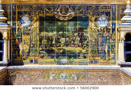Palacio Espanol in Seville, Spain Stock photo © aladin66