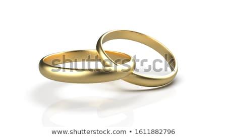 cosmetics  and wedding rings Stock photo © taden