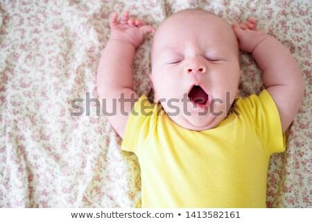 Bebek erkek yüz mutlu gözler Stok fotoğraf © Nejron