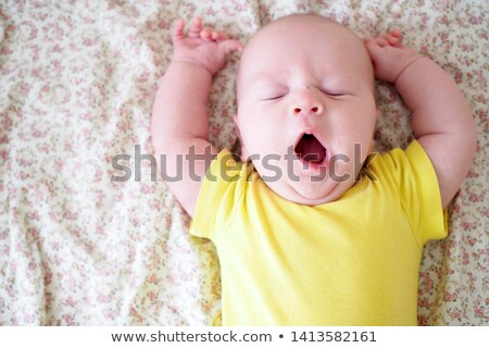 Bebê menino cara feliz olhos Foto stock © Nejron