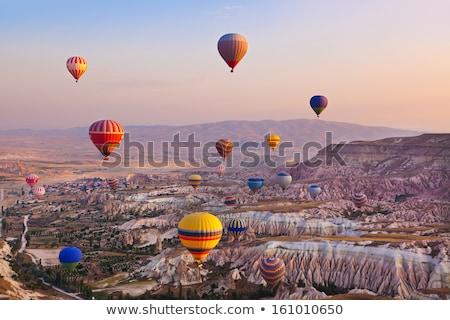 Gündoğumu Türkiye gün batımı doğa manzara yaz Stok fotoğraf © wjarek