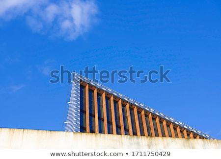Collage blauwe hemel wolken hemel natuur ontwerp Stockfoto © tashatuvango