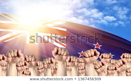 New Zealand Labour movement, workers union strike Stock photo © stevanovicigor