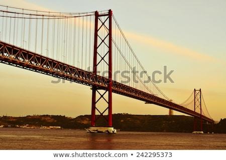 25 ponte Lisbona Portogallo filtrare effetto Foto d'archivio © nito