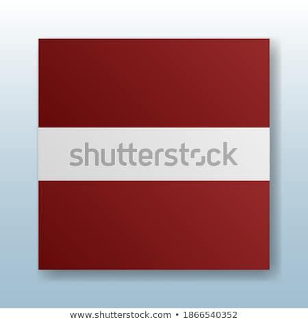 Botões símbolo Látvia bandeira mapa vermelho Foto stock © mayboro1964