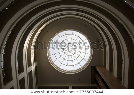 circle roof stock photo © wxin