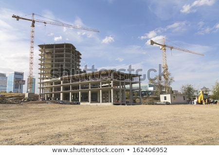 progresso · alto · progetto · costruzione · ingegneri · uomo - foto d'archivio © tang90246