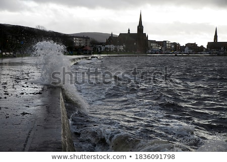 Resort settentrionale Scozia città Foto d'archivio © Julietphotography