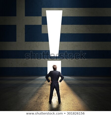 European Union Businessman Questioning Stock photo © stevanovicigor