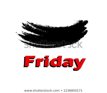 Marketing word painted and brush stock photo © fuzzbones0