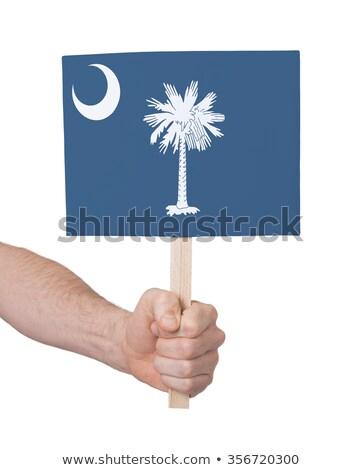 стороны небольшой карт флаг Оклахома Сток-фото © michaklootwijk