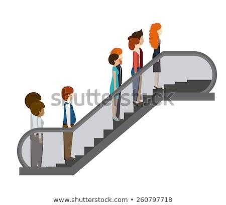 Escalator Runway Stock photo © p0temkin