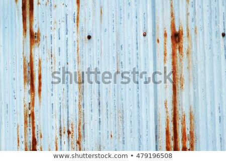 old rusty tin roof stock photo © taigi