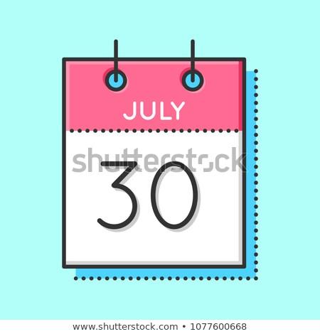 30th July Stock photo © Oakozhan