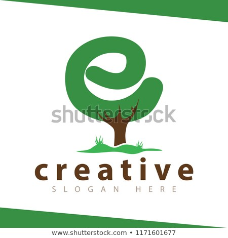 A letter E for Earth Stock photo © bluering