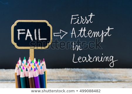 FAIL First Attempt In Learning Stock photo © ivelin