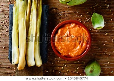 Vegetables and Romesco Sauce Stock photo © Digifoodstock
