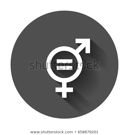 woman with a symbol for gender equality Stock photo © nito