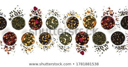 chinese herbal blend tea collection stock photo © pixelsaway