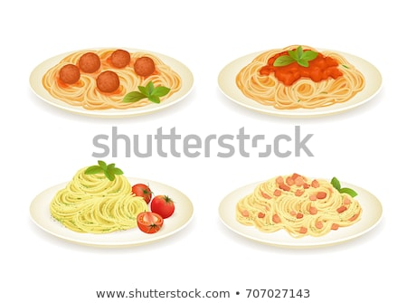 illustration of spaghetti  Stock photo © Olena
