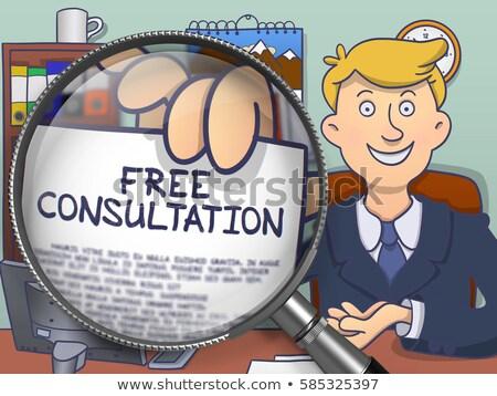 conselho · apoiar · serviço · bússola · agulha · indicação - foto stock © tashatuvango