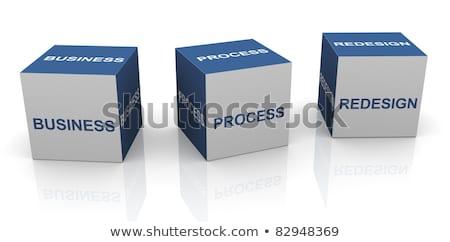 Business Process Redesign. 3D. Stock photo © tashatuvango