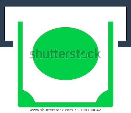 気圧 スロット アイコン 色 デザイン ストックフォト © angelp