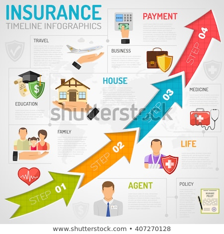 Medical Services Timeline Infographics Stock photo © -TAlex-
