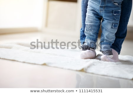 Young boy with socks Stock photo © bluering