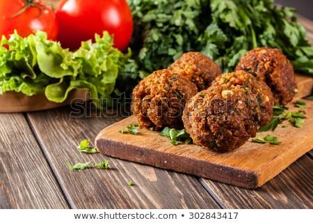 vegan · sandwich · carne · pollo · Turchia · tofu - foto d'archivio © m-studio