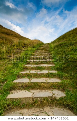 Ascending Rock Stairs Stock photo © bobkeenan