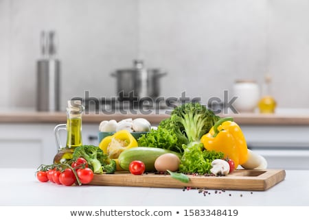 Vegetarian Food, Healthy Squash and Vegetables Stock photo © robuart